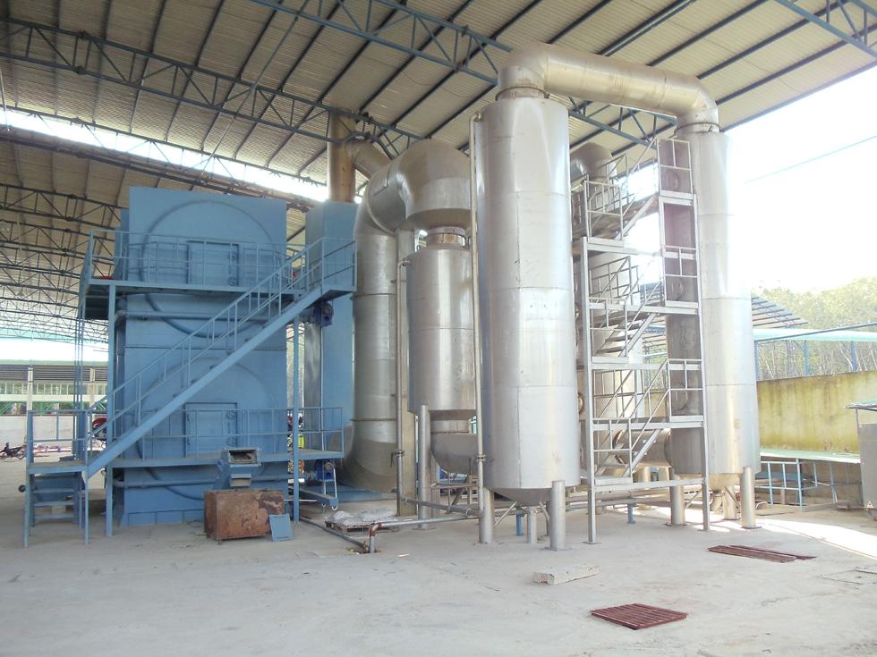 Xử lý chất thải rắn công ty môi trường xanh vn