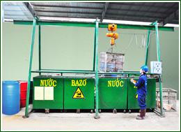 Xử lý kim loại nhựa nhiễm dầu